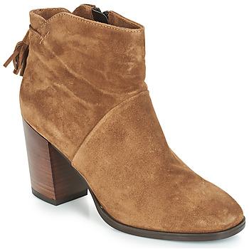 Sapatos Mulher Botas baixas André CARESSE Camel