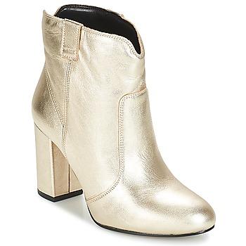 Sapatos Mulher Botins André POLICIA Dourado