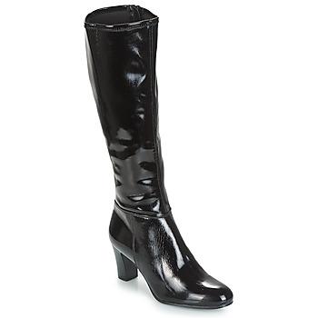 Sapatos Mulher Botas André GANTELET 3 Preto