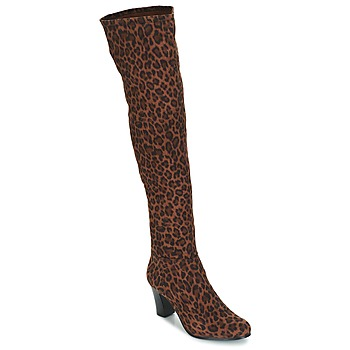 Sapatos Mulher Botas André PRISCA 3 Leopardo