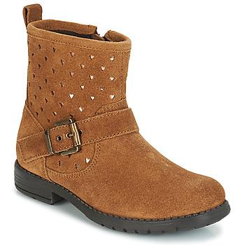 Sapatos Rapariga Botas baixas André SALMA Camel