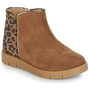 Sapatos Rapariga Botas baixas André SAVANNAH Camel