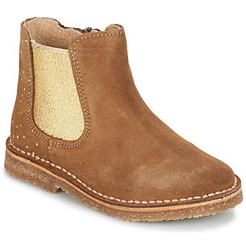 Sapatos Rapariga Botas baixas André CANNELLE Camel