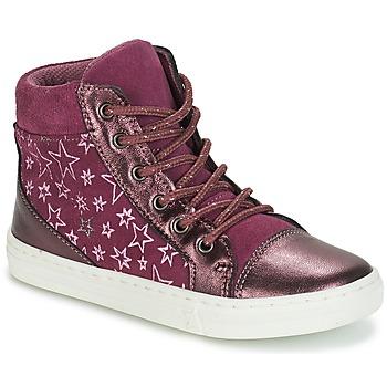 Sapatos Rapariga Sapatilhas de cano-alto André EMILIE Violeta