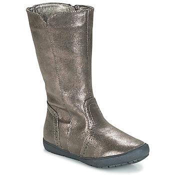 Sapatos Rapariga Botas André SCINTILLANTE Prateado
