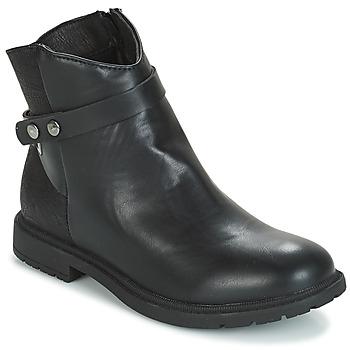 Sapatos Rapariga Botas baixas André LOELIE Preto