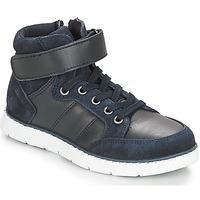 Sapatos Rapaz Sapatilhas de cano-alto André TOM Marinho