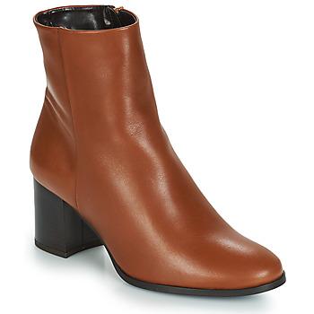 Sapatos Mulher Botins André DARA Camel
