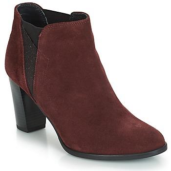 Sapatos Mulher Botins André ROSACE Bordô