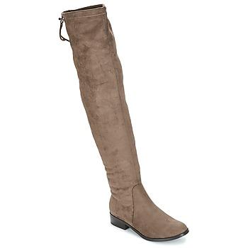 Sapatos Mulher Botas altas André MARGOT Toupeira