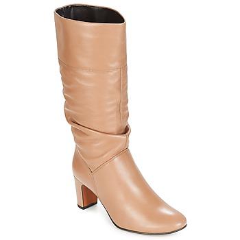 Sapatos Mulher Botas André SARA Bege