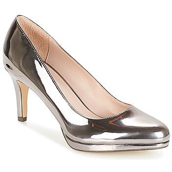 Sapatos Mulher Escarpim André CRYSTAL Prateado