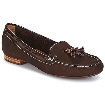 Sapatos Mulher Mocassins André DANY Castanho