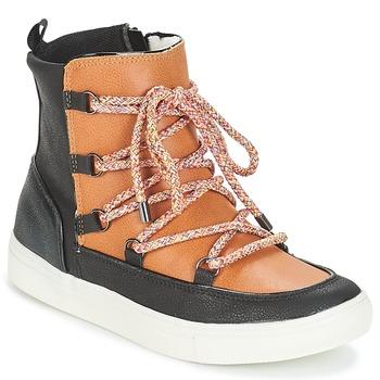 Sapatos Mulher Botas baixas André SNOW Camel