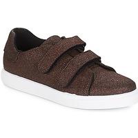 Sapatos Mulher Sapatilhas André ECLAT Bronze
