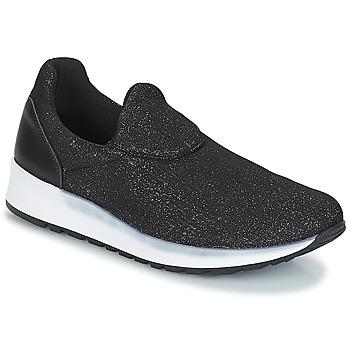 Sapatos Mulher Slip on André RHINESTONE Preto