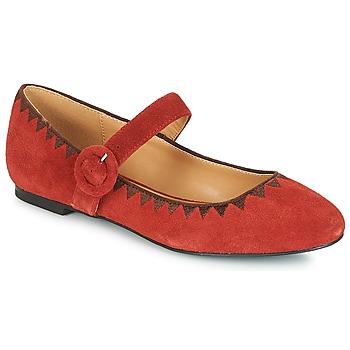 Sapatos Mulher Sabrinas André ALBOROZA Vermelho