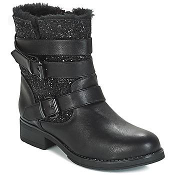 Sapatos Mulher Botas baixas André BRIGITTE Preto