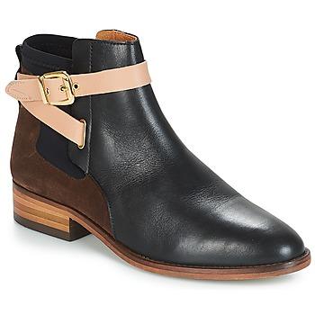 Sapatos Mulher Botas baixas André MONTANA Preto