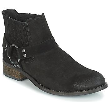 Sapatos Mulher Botas baixas André ELBA Preto