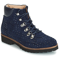 Sapatos Mulher Botas baixas André CALCEDOINE Azul