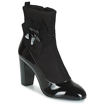 Sapatos Mulher Botas André MAGDALENA Preto