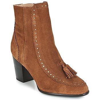Sapatos Mulher Botins André DORIANE Camel