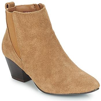 Sapatos Mulher Botins André CALIMITY Bege