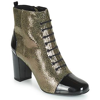 Sapatos Mulher Botins André CONGA Cáqui