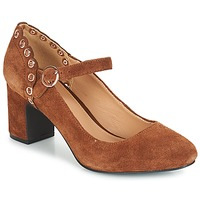 Sapatos Mulher Escarpim André ALDA Camel
