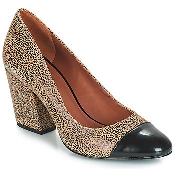 Sapatos Mulher Escarpim André FAUVE Bege