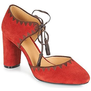Sapatos Mulher Escarpim André ALLEGRA Vermelho