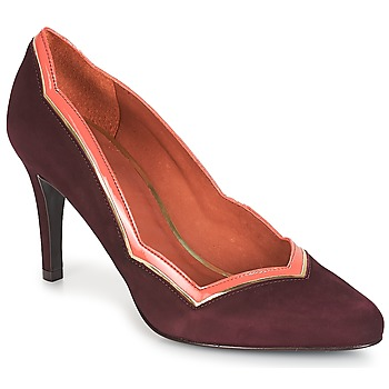 Sapatos Mulher Escarpim André PIERA Bordô