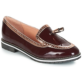 Sapatos Mulher Mocassins André DEBBY Bordô