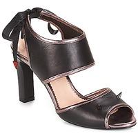 Sapatos Mulher Sandálias André NEVERLAND Preto