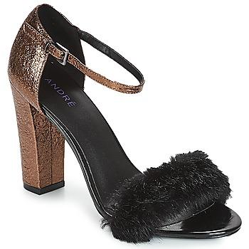 Sapatos Mulher Sandálias André WANDA Preto