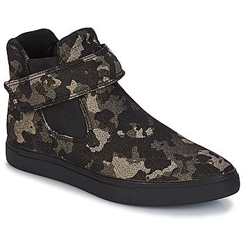 Sapatos Mulher Sapatilhas de cano-alto André SKATE Preto