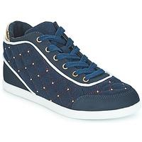 Sapatos Mulher Sapatilhas de cano-alto André KINGDOM Azul
