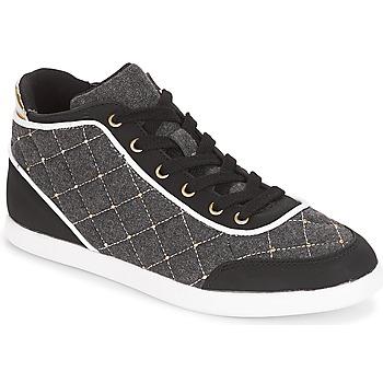 Sapatos Mulher Sapatilhas de cano-alto André KINGDOM Cinza