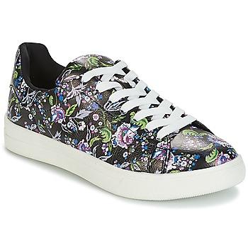 Sapatos Mulher Sapatilhas André FLOWER Preto