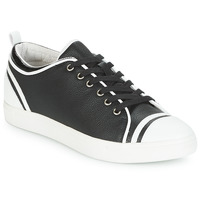 Sapatos Mulher Sapatilhas André LEANE Preto / Branco