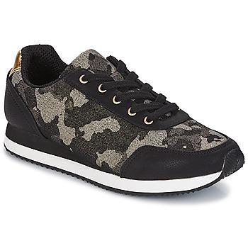 Sapatos Mulher Sapatilhas André KIM Preto
