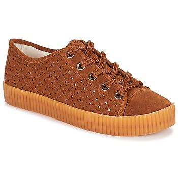 Sapatos Mulher Sapatilhas André STARLIGHT Castanho
