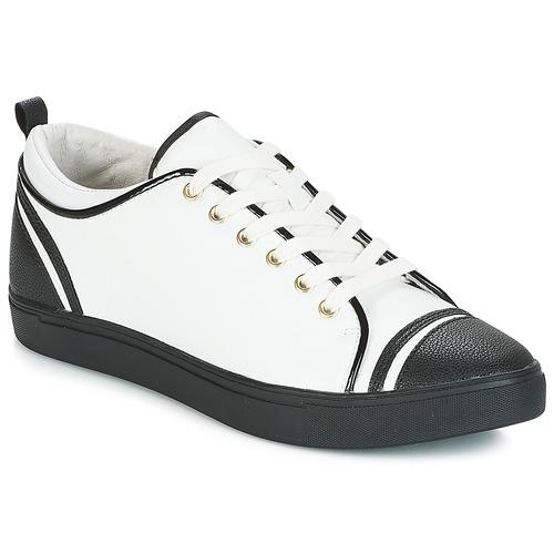 4a0485b1e André LEANE Branco - Entrega gratuita | Spartoo.pt ! - Sapatos ...