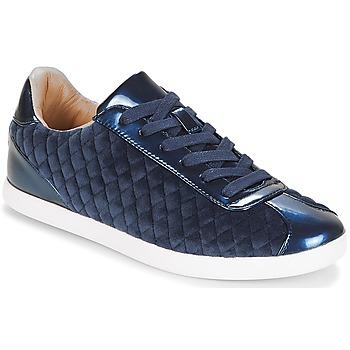 Sapatos Mulher Sapatilhas André VELVET Azul