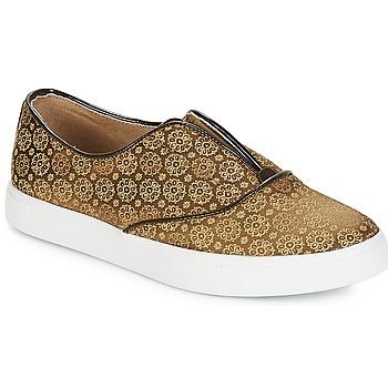 Sapatos Mulher Slip on André ROYAUME Cáqui