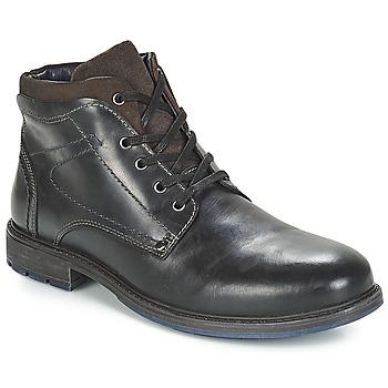 Sapatos Homem Botas baixas André PRAO Preto