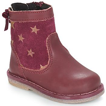 Sapatos Rapariga Botas baixas André PARME Bordô