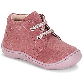 Sapatos Rapariga Botas baixas André PALE Rosa