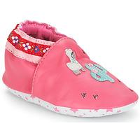 Sapatos Rapariga Pantufas bebé André PERUVIENNE Rosa